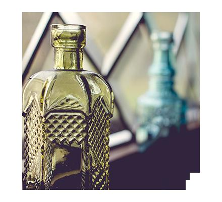 La bottiglia della strega per maledire